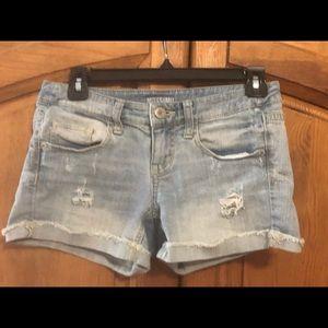 Juniors Mossimo Sz 3 Jean Shorts